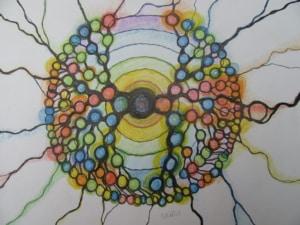 Neurographisches Zeichnen: Ahnenmandala | Sabine Eggersglüß