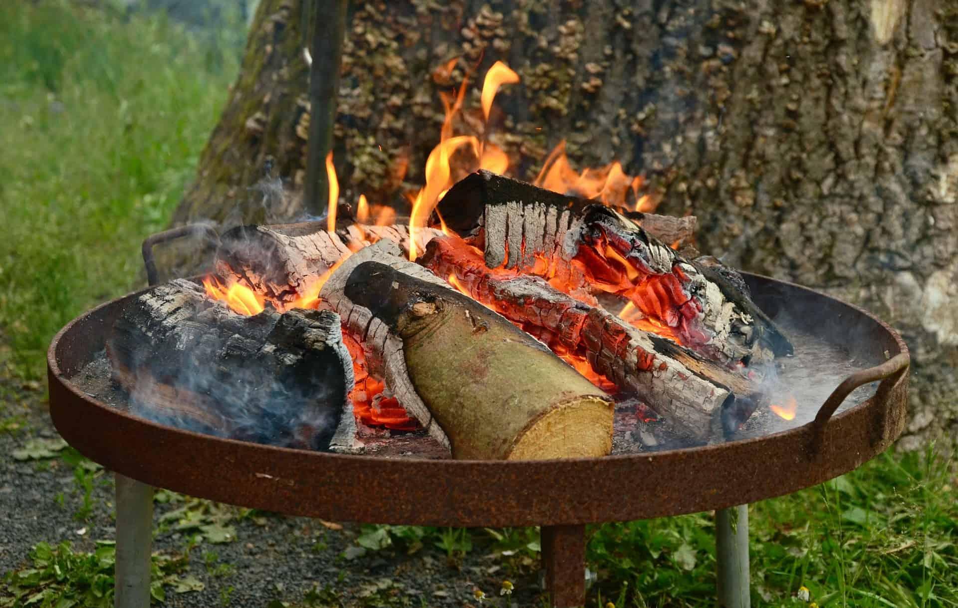 Feuerschale | Foto: Pixabay/congerdesign