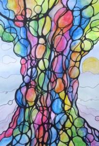 Neurographisches Zeichnen mit Sabine Eggersglüß: Wurzeln stärken (Ahnenbaum)